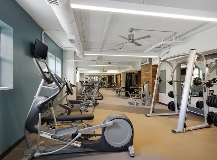 Eitel Apartments fully-equipped fitness center