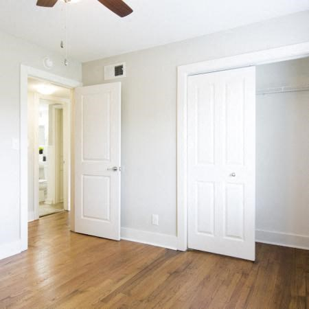 Spacious closet at The Vic at Buckhead apartments