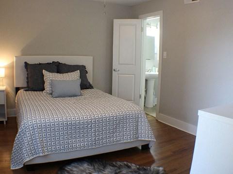 bedroom  in apartments in Buckhead Altanta GA