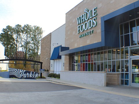 Whole Foods near The Vic at Buckhead apartments