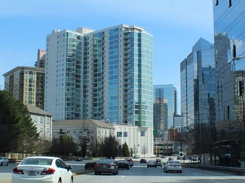 The Vic apartments is in Buckhead area of Atlanta Ga