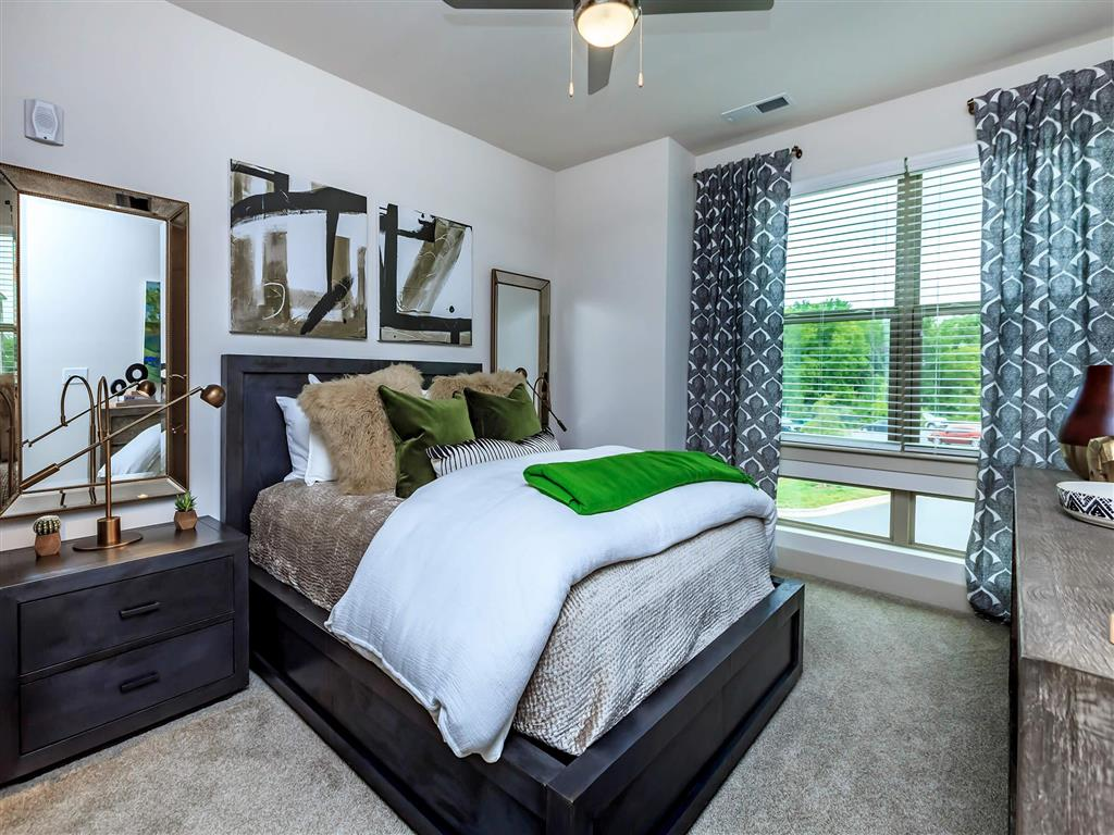 Spacious Bedroom With Comfortable Bed at Berewick Pointe, North Carolina