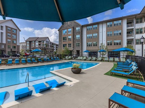 Mini Swimming Pool And Relaxing Area at Berewick Pointe, Charlotte, 28278