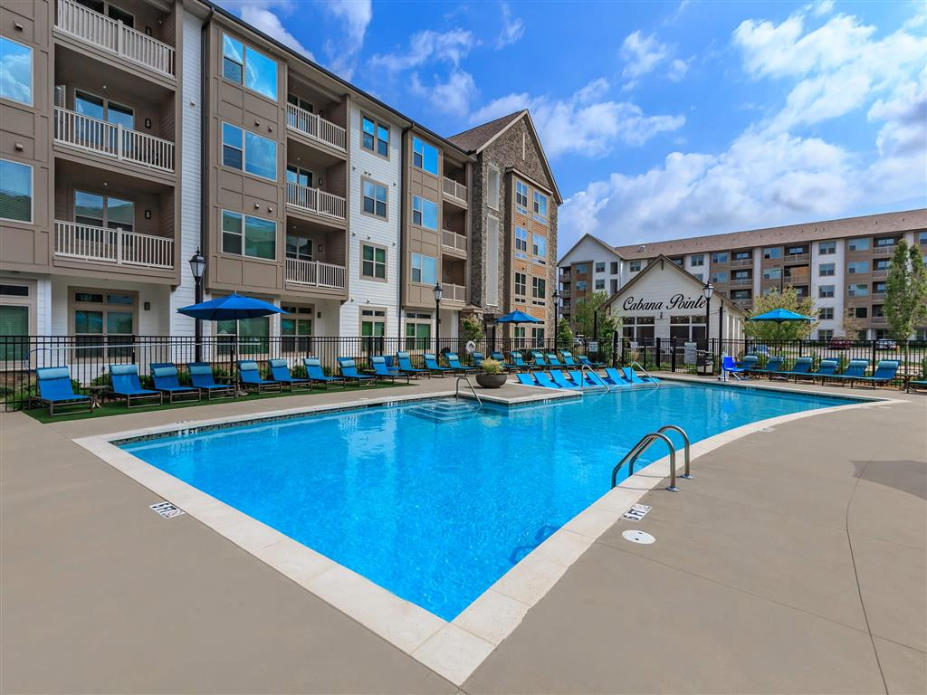 Outdoor Swimming Pool at Berewick Pointe, Charlotte, 28278