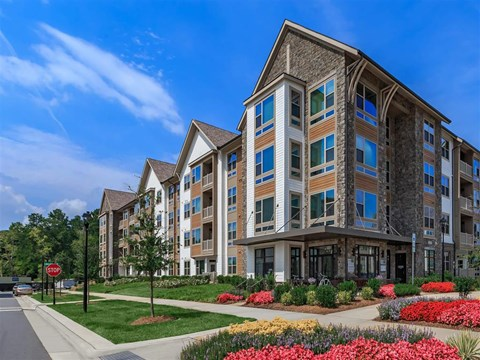 Elegant Exterior View at Berewick Pointe, Charlotte