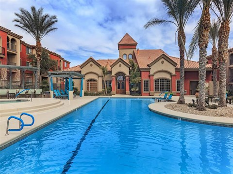 Outdoor Swimming Pool at Montecito Pointe, Nevada, 89166