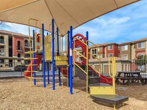 Montecito Pointe Fun Stop Tot Lot in Nevada Apartment Rentals