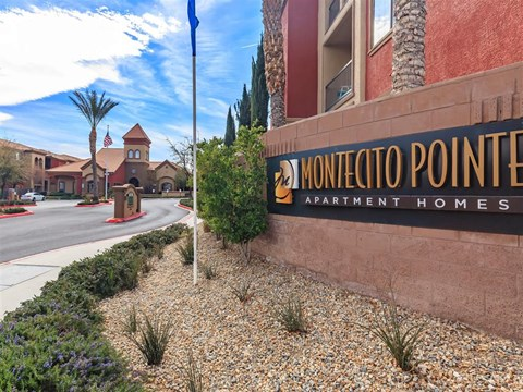 Welcoming Property Signage at Montecito Pointe, Las Vegas, 89166