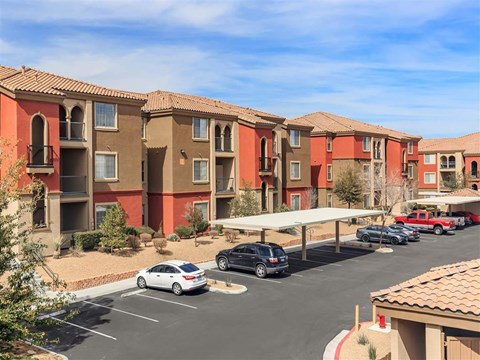 Ample Parking Area And Detached Garages Available at Montecito Pointe, Las Vegas, 89166