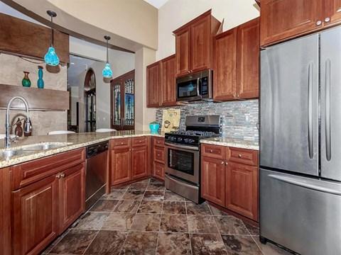 Montecito Pointe Kitchen Appliances in Las Vegas, Nevada Rental Homes