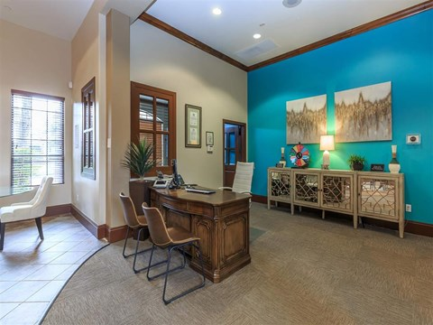 Brightly Decorated Leasing Office at Montecito Pointe, Las Vegas