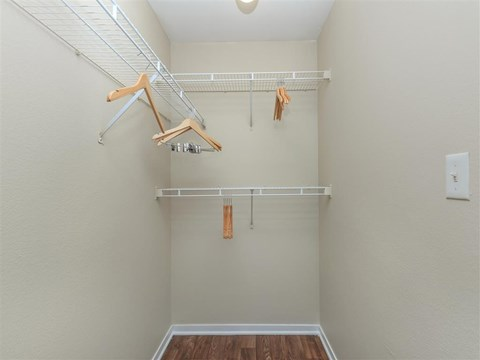 Montecito Pointe Built-In Shelving In Closet in Las Vegas, NV Apartments for Rent