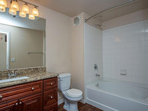 Bathroom With Bathtub at Painted Trails, Gilbert