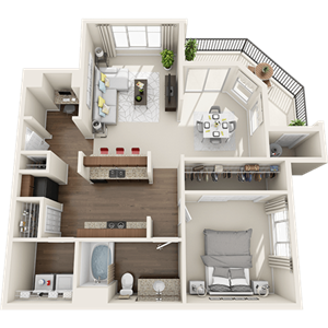 A4 Floor Plan at Painted Trails, Arizona, 85295