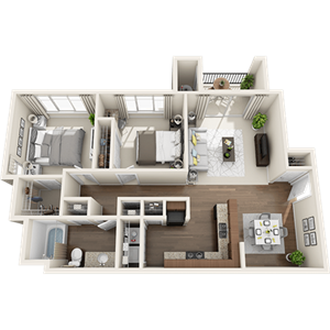 B4 Floor Plan at Painted Trails, Arizona