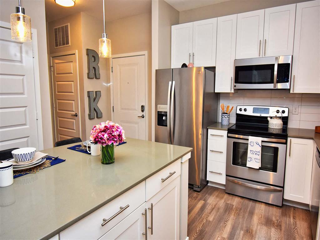 Spacious Kitchen at Pointe at Lake CrabTree, Morrisville, NC, 27560