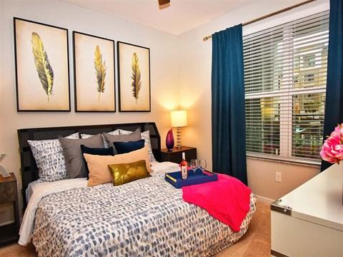 Large Master Bedrooms at Pointe at Lake CrabTree, North Carolina, 27560