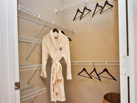 Walk-In Closet at Pointe at Lake CrabTree, Morrisville, 27560