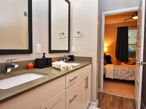Spacious Bedrooms With En Suite Bathrooms at Pointe at Lake CrabTree, Morrisville, NC, 27560