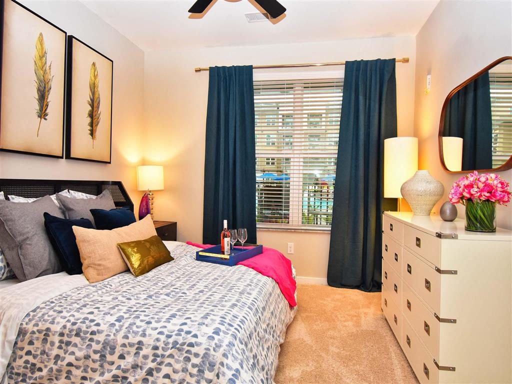 Large Master Bedrooms at Pointe at Lake CrabTree, Morrisville, 27560