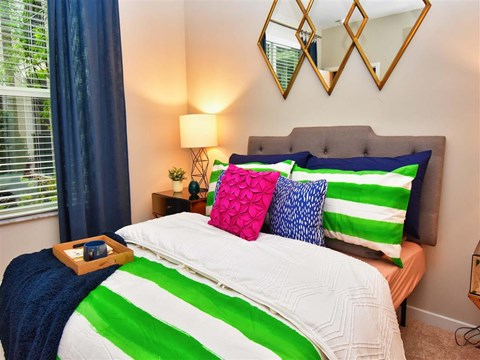 Spacious Bedroom With Comfortable Bed at Pointe at Lake CrabTree, Morrisville, 27560