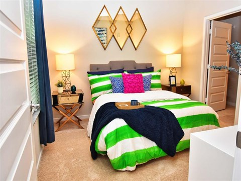 Classic Bedroom at Pointe at Lake CrabTree, Morrisville, NC