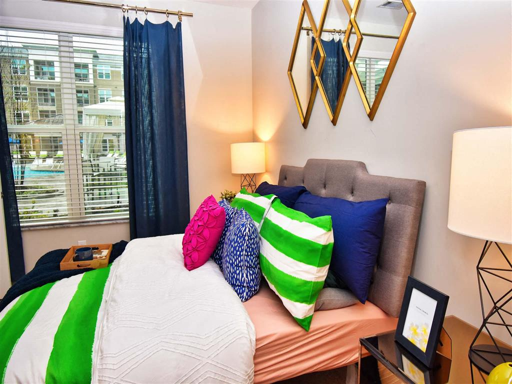 Comfortable Bedroom at Pointe at Lake CrabTree, Morrisville, North Carolina