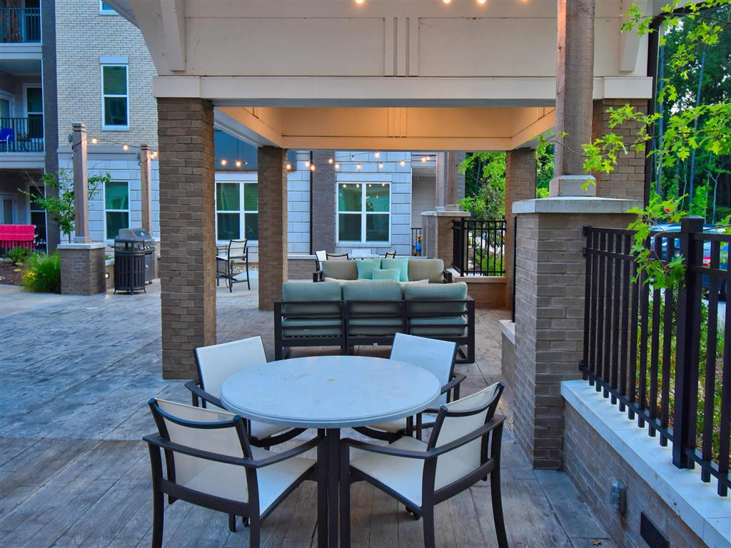 Large Personal Patio at Pointe at Lake CrabTree, North Carolina