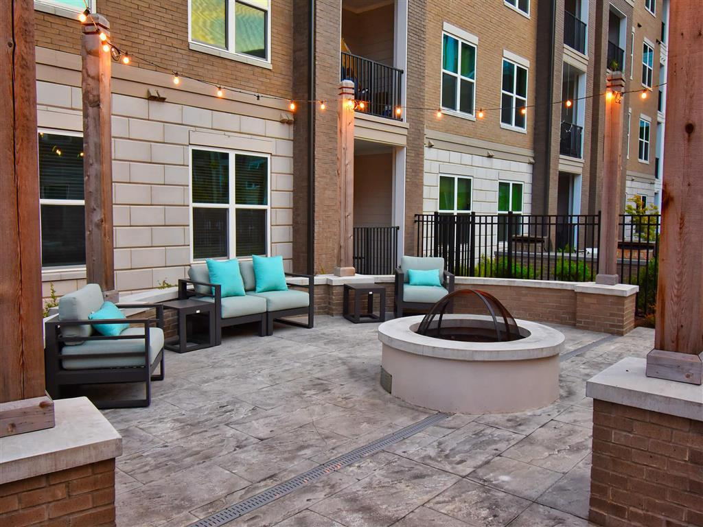Outdoor Patio at Pointe at Lake CrabTree, Morrisville, NC, 27560