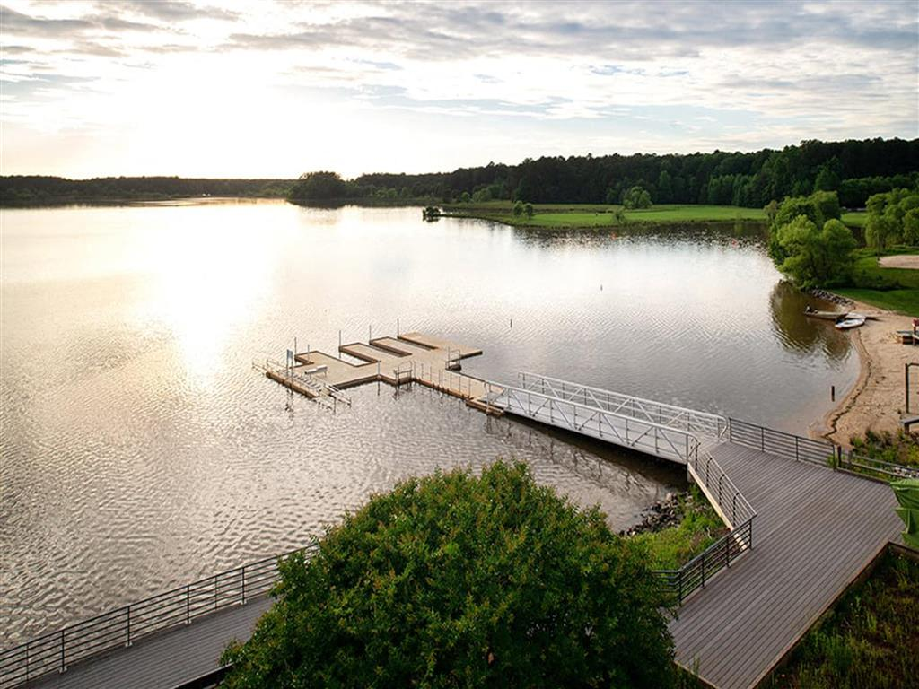Serene Lakeside View at Pointe at Lake CrabTree, North Carolina