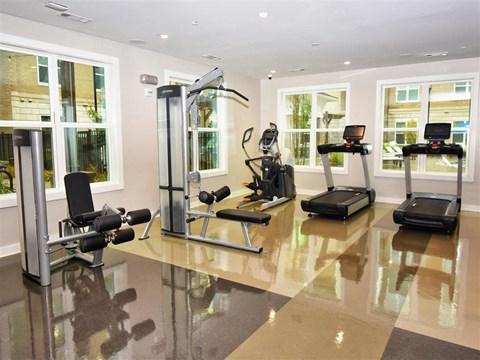 State-Of-The-Art Gym And Spin Studio at Pointe at Lake CrabTree, North Carolina, 27560