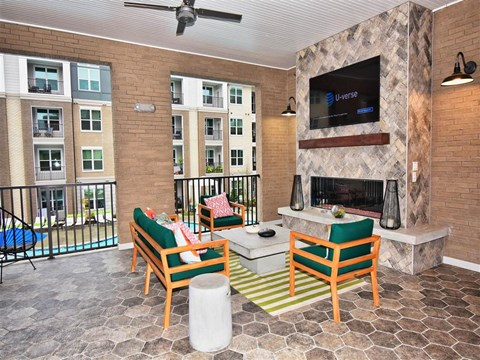 Large Private Patios & Balconies at Pointe at Lake CrabTree, Morrisville, NC