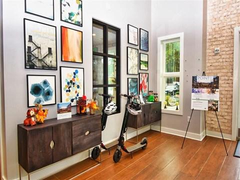 Art Gallery at Pointe at Lake CrabTree, North Carolina, 27560