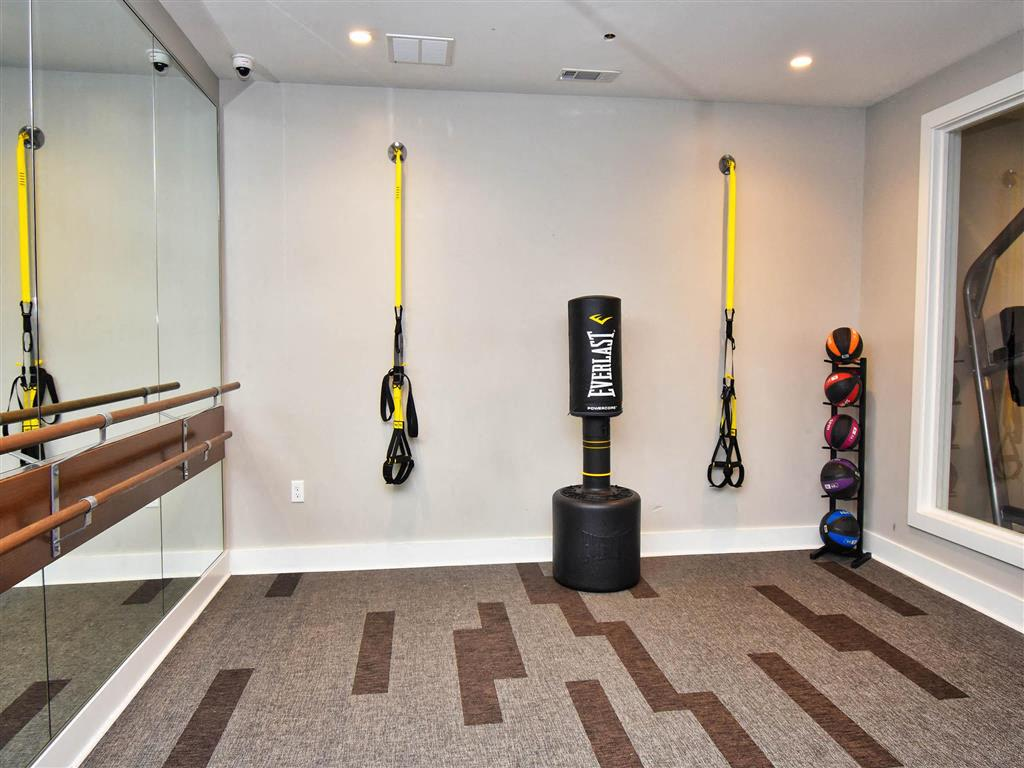 Free Weights And Cardio Equipment at Pointe at Lake CrabTree, Morrisville, North Carolina