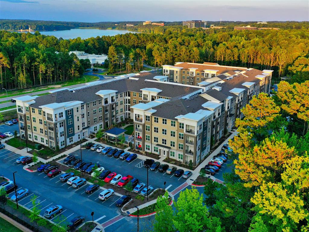 Aerial View Of Property at Pointe at Lake CrabTree, Morrisville, 27560