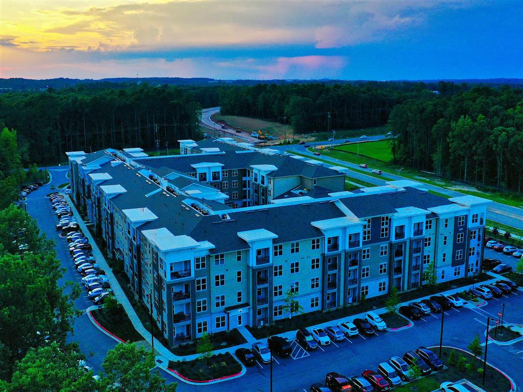 Aerial View Of The Property at Pointe at Lake CrabTree, Morrisville, NC, 27560