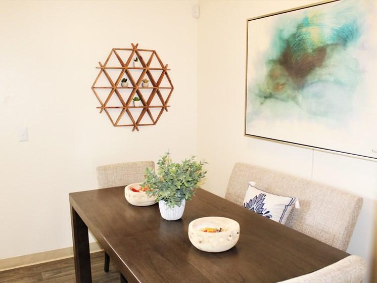 Dining room apartment in Tucson