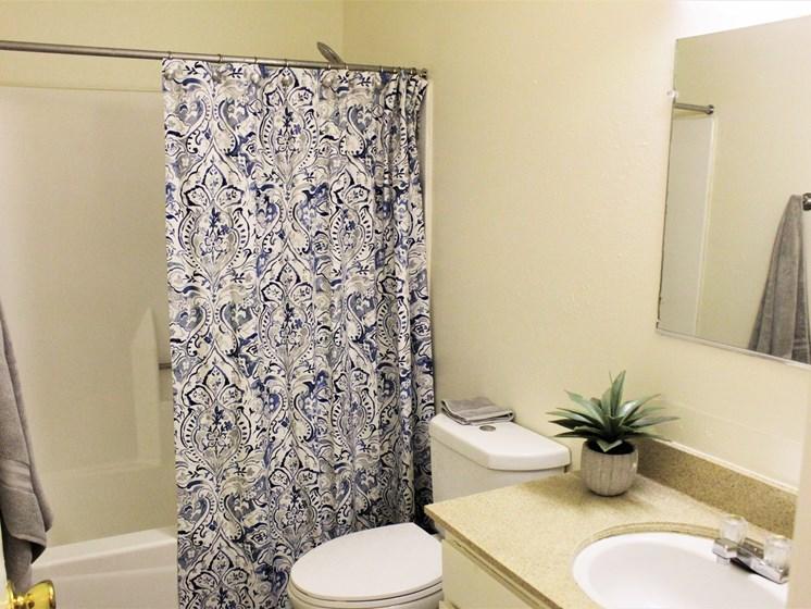 apartment bathroom in Tucson