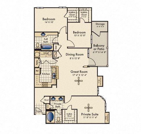 chastain floorplan reserve by the lake