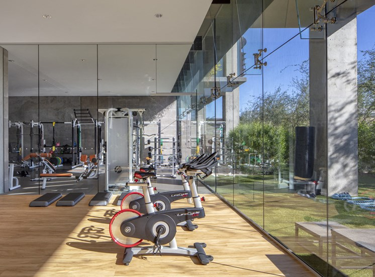 Gym in Optima Kierland Apartments