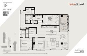 18 Floor Plan by Optima Kierland Apartments