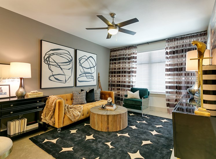 The Mark at Midtown Park Living Room