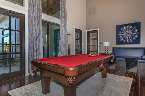 Agora Stone Oak Clubroom Billiards Table