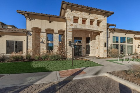 Agora Stone Oak Leasing Entrance
