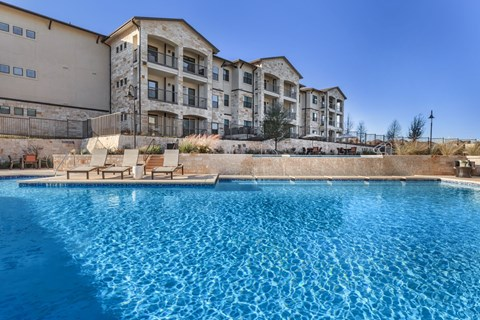 Agora Stone Oak Pool