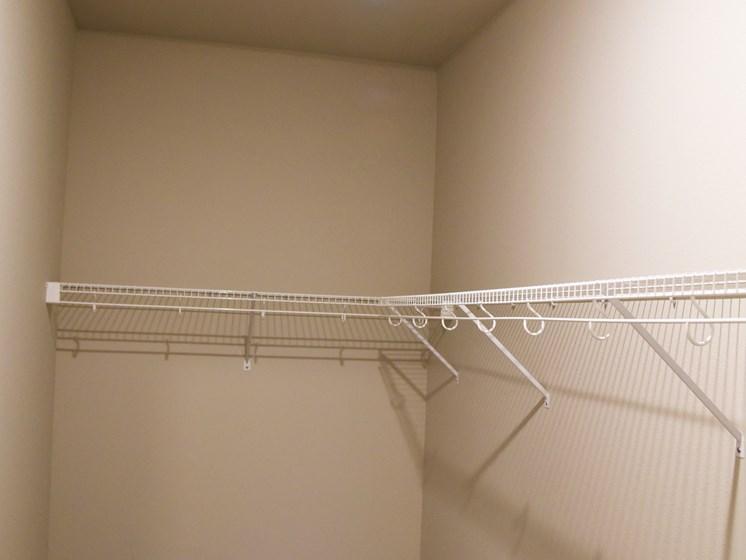 Large Closets at The Brix Apartments, Spokane Valley, Washington