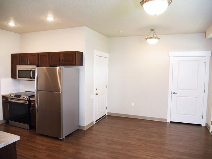 Hardwood Floors at The Brix Apartments, Washington