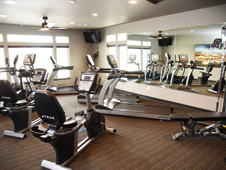 Health And Fitness Center at The Brix Apartments, Spokane Valley, 99037