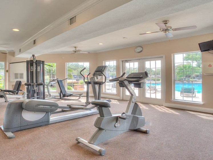 Fitness Center at Fairfield Cove Apartments, Houston, Texas