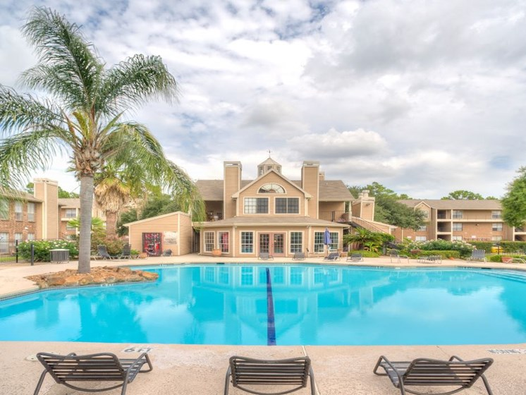Resort-Style Pool at Fairfield Cove Apartments, Texas